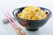 Chinese noodles sauteed with vegetables