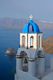 Greek church chapell in Santorini, Greece
