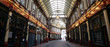canvas print picture - Leadenhall Market in the City of London