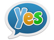 Dialogue balloon - yes