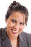Asian business woman portrait
