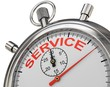 Stoppuhr Service
