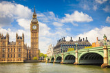 Fototapety Big Ben and Houses of Parliament