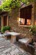 A stone house in Istria, Groznjan, Croatia