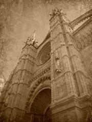 Foto antigua de Mallorca, old photo of Majorca..