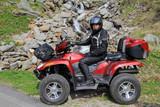 Mit dem ATV in die Berge