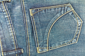texture of jean clothing