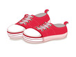 Sneakers vector, canvas shoes