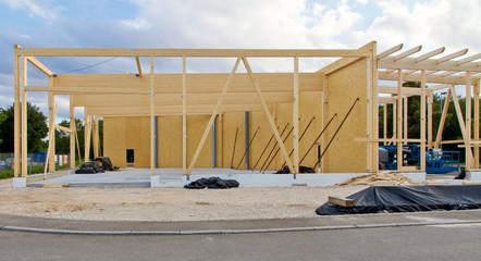 Holzbau, Industriegebäude