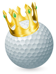 King of golf