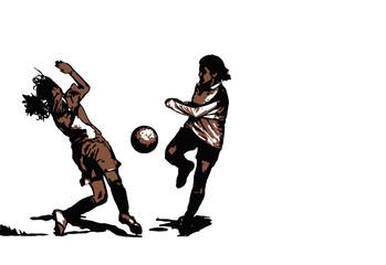 Mädchenfussball