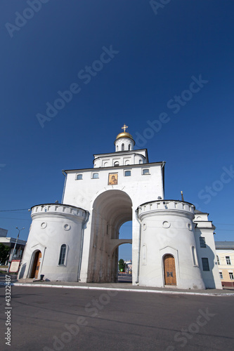 Golden Ring of Russia. The Golden Gates of Vladimir