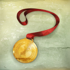 Gold Medal, old-style