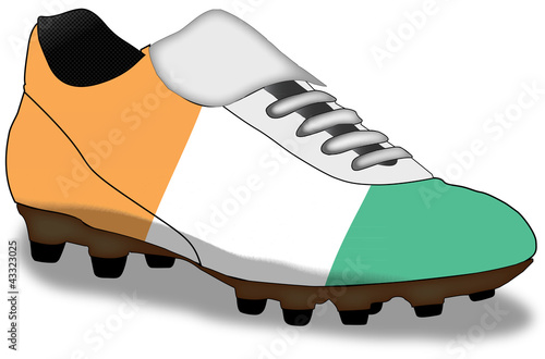 shoe of Cote d'Ivoire  (more in gallery)