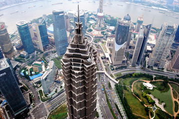 Shangai financial center