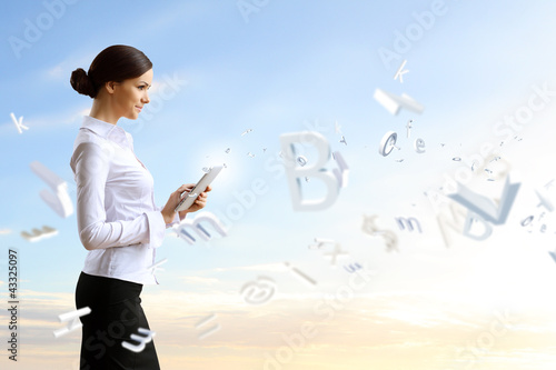 Business person and finance related background