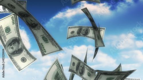 Money from Heaven - USD (Loop)
