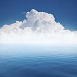 Fototapety beautiful sea and cloud sky at the horizon
