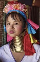 Thailand, Chiang Mai, Karen Long Neck hill tribe village
