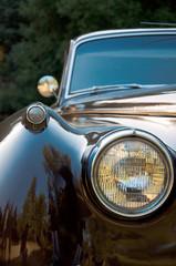 Vintage car close-up