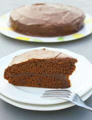 sachertorte viennois,brownie fourré,glaçage chocolat noir