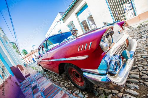 voiture ancienne de cuba - 43334856