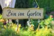 Wohlfühlen im eigenen Garten