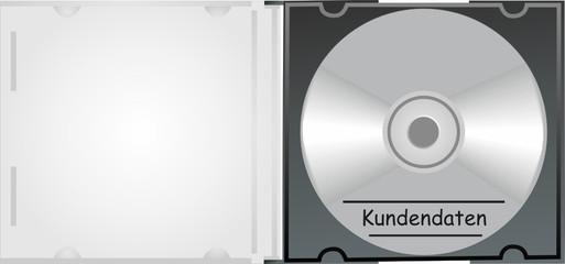 Kundendaten - CD mit Hülle