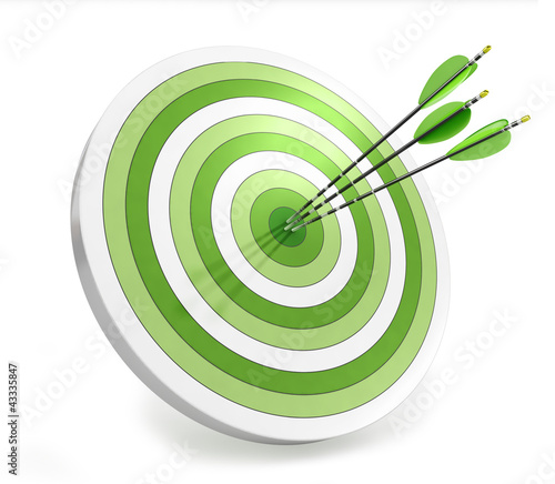 Target and arrows