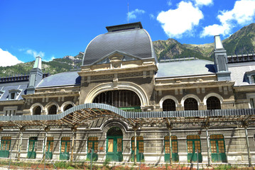 Canfranc old station