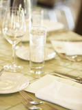 Elegant table placesetting