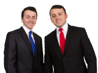 Two men in suits