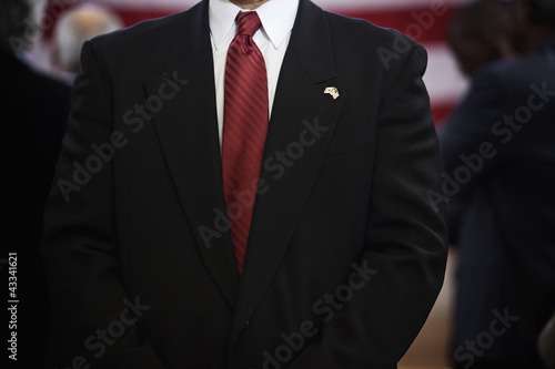 Businessman's elegant suit