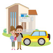 家と車と家族