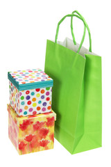 Shopping Bag and Gift Boxes