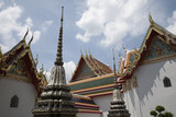 Ornate rooftops of Phra Chedi Roi