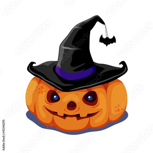Keuken foto achterwand Sweet Monsters halloween pumpkin