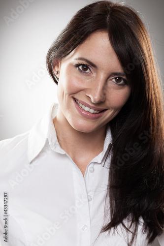 Freundliche Frau