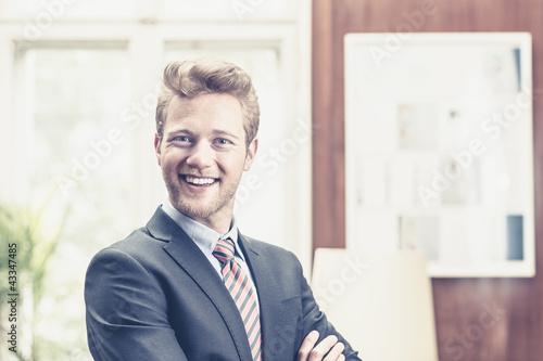 Junger Geschäftsführer