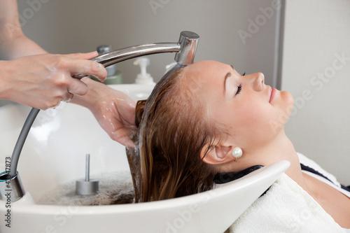 Hair Wash At Salon