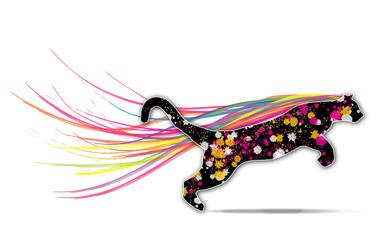 Colored Puma