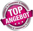 """Button Banner """"Topangebot"""" pink/silber"""