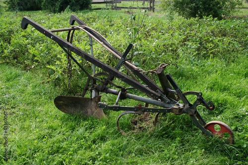 Old Hand Plough