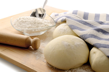Dough for bread or pizza (1)