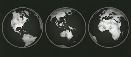Chalkboard - Chalk Globes
