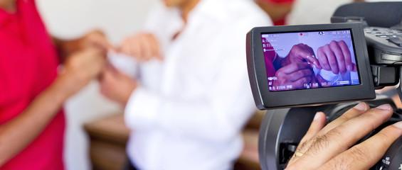 monitor videocamera