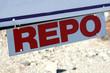Repossession Sign