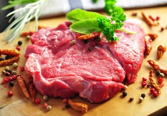 Kräuter, Fleisch