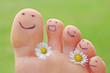 fröhliche Füße