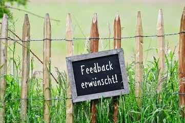 feedback erwünscht